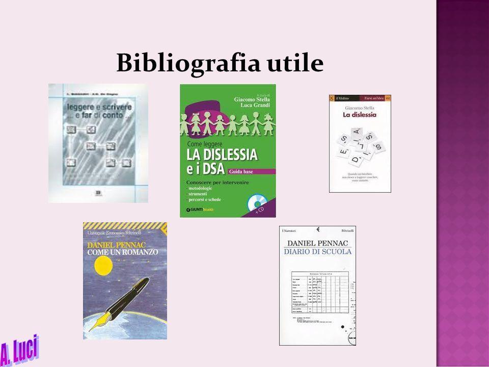 Bibliografia utile