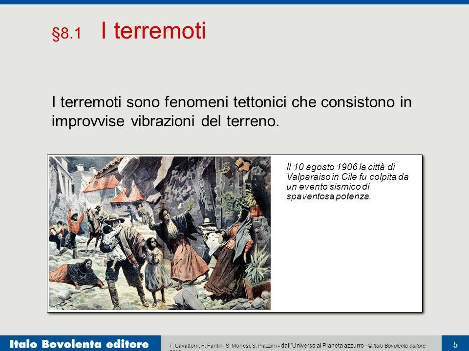 T. Cavattoni, F. Fantini, S. Monesi, S. Piazzini - dall'Universo al Pianeta azzurro - © Italo Bovolenta editore 2010 5 I terremoti sono fenomeni tetto
