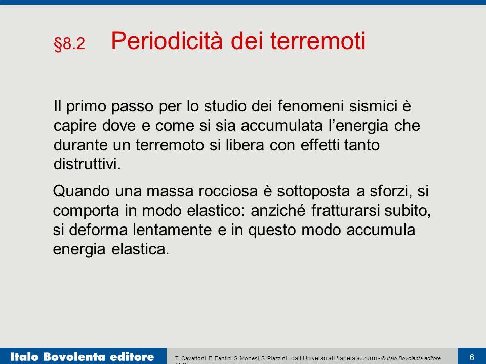 T. Cavattoni, F. Fantini, S. Monesi, S. Piazzini - dall'Universo al Pianeta azzurro - © Italo Bovolenta editore 2010 6 Il primo passo per lo studio de