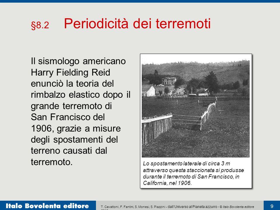 T. Cavattoni, F. Fantini, S. Monesi, S. Piazzini - dall'Universo al Pianeta azzurro - © Italo Bovolenta editore 2010 9 Il sismologo americano Harry Fi