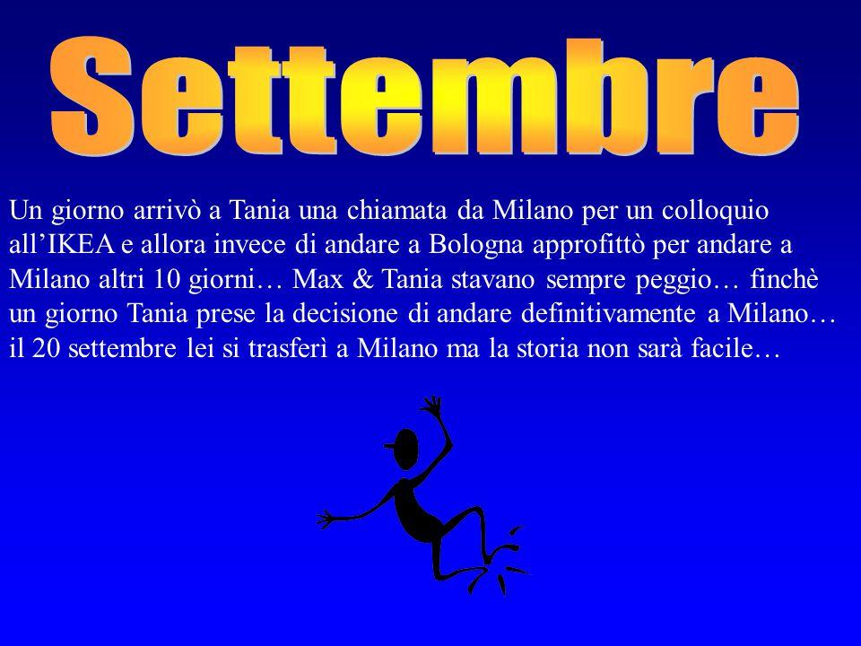 Arrivò finalmente il 3 agosto e Massimo prende il K2 e torna a Teramo a trovare Tania… lei lo aspetta alla stazione poi passeranno 10 giorni stupendi, a Teramo.