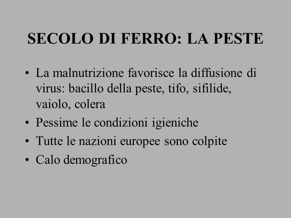 L'Italia vive la sua età spagnola La Francia dei Borboni pacificata dopo la guerra civile mette le basi di quell'assolutismo politico che poi si affermerà in tutta Europa All'interno dell'Impero degli Asburgo si consolida la potenza politica ed economica della Prussia degli Hohenzollern