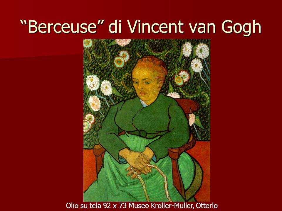 """""""Berceuse"""" di Vincent van Gogh Olio su tela 92 x 73 Museo Kroller-Muller, Otterlo"""