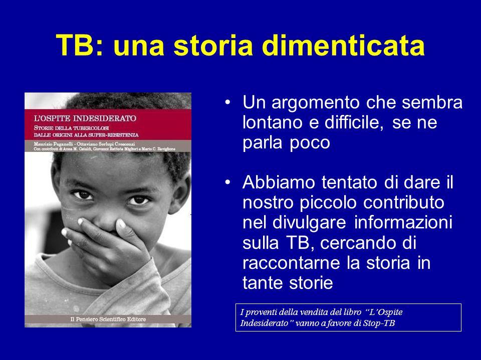 TB: una storia dimenticata Un argomento che sembra lontano e difficile, se ne parla poco Abbiamo tentato di dare il nostro piccolo contributo nel divu