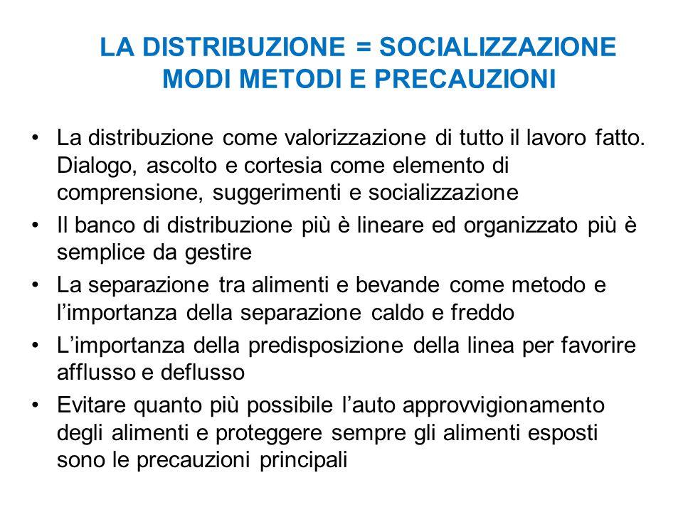 LA DISTRIBUZIONE = SOCIALIZZAZIONE MODI METODI E PRECAUZIONI La distribuzione come valorizzazione di tutto il lavoro fatto.