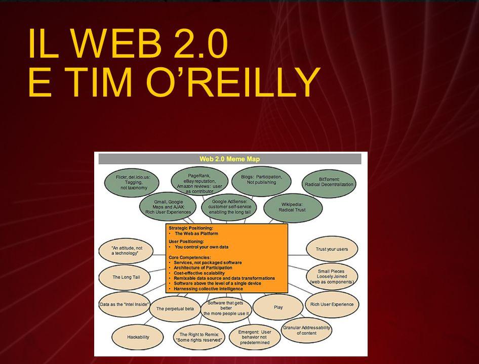 IL WEB 2.0 E TIM O'REILLY