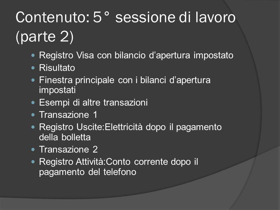 Transazione 2 Dalla finestra del registro del conto Attività:Conto corrente, inserire una transazione tra 2 conti al fine di impostare il bilancio di apertura a €1.000, trasferiti da Capitali:Bilanci d'apertura.