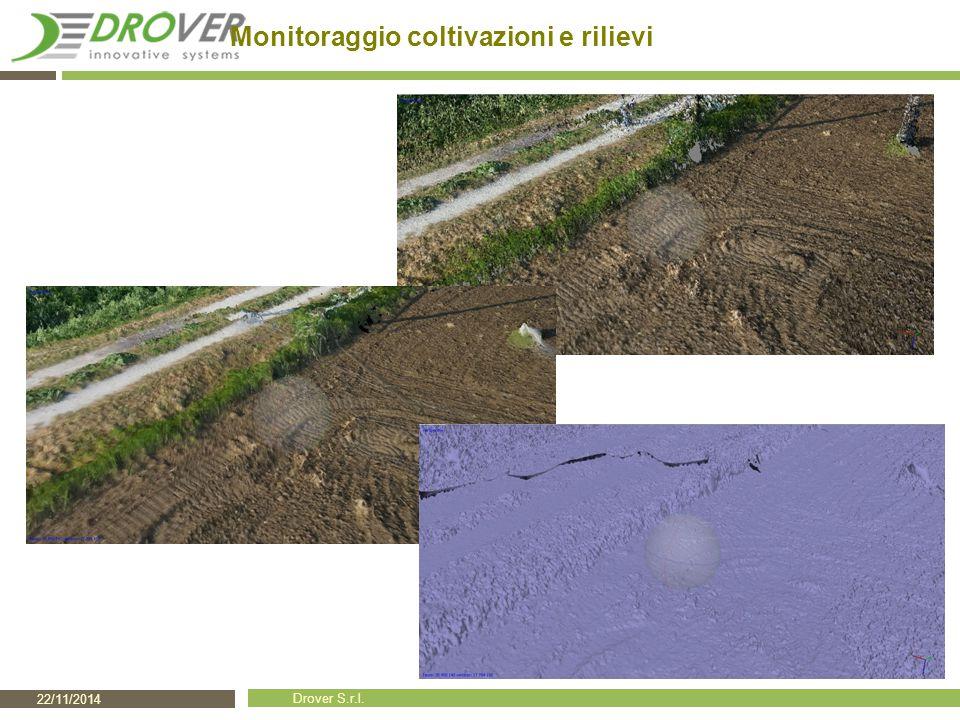 22/11/2014 Drover S.r.l. Monitoraggio coltivazioni e rilievi