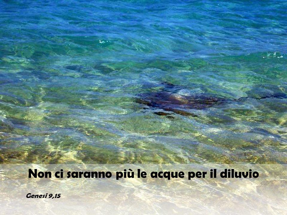Al soffio della tua ira si accumularono le acque, si alzarono le onde come un argine, si rappresero gli abissi in fondo al mare.