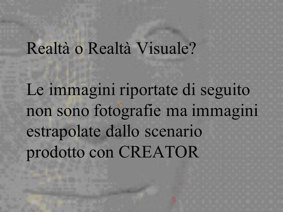 Realtà o Realtà Visuale.