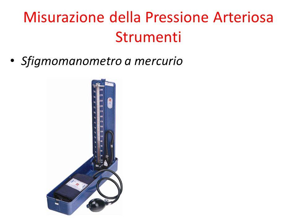 Misurazione della Pressione Arteriosa Strumenti Sfigmomanometro a mercurio