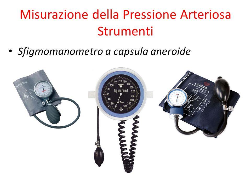 Misurazione della Pressione Arteriosa Strumenti Sfigmomanometro a capsula aneroide