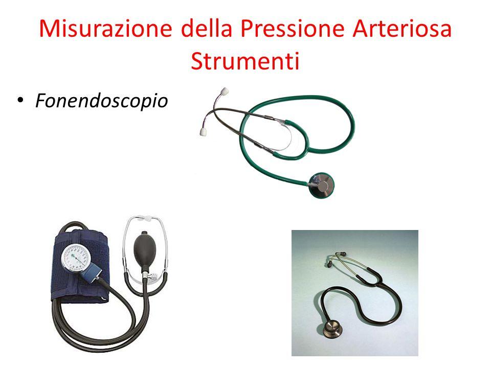 Misurazione della Pressione Arteriosa Strumenti Fonendoscopio
