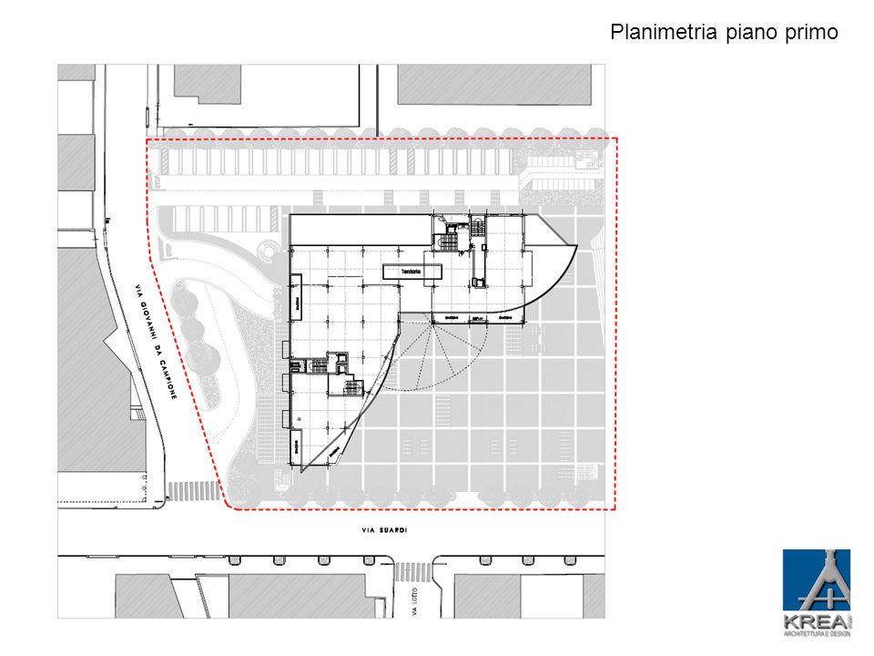 Planimetria piano 2-3-4-5