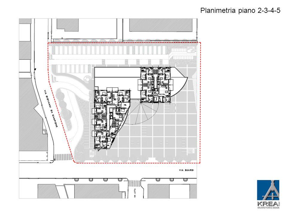 Planimetria piano attico