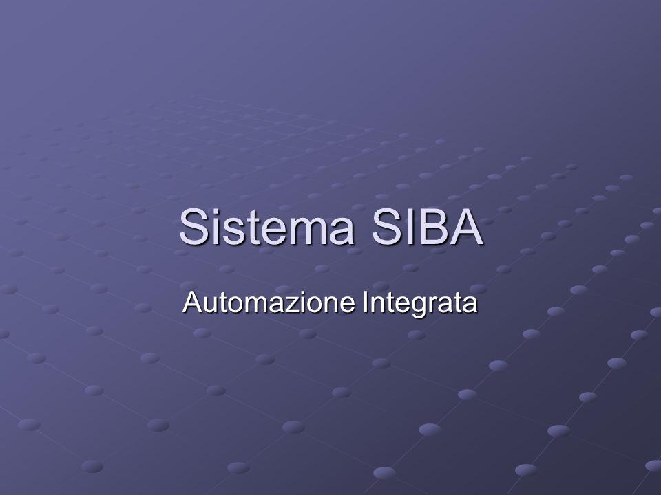Sistema SIBA Automazione Integrata