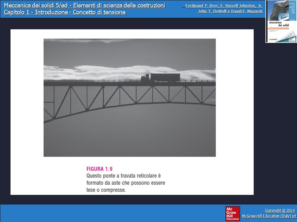 Meccanica dei solidi 5/ed - Elementi di scienza delle costruzioni Capitolo 1 - Introduzione - Concetto di tensione Ferdinand P.