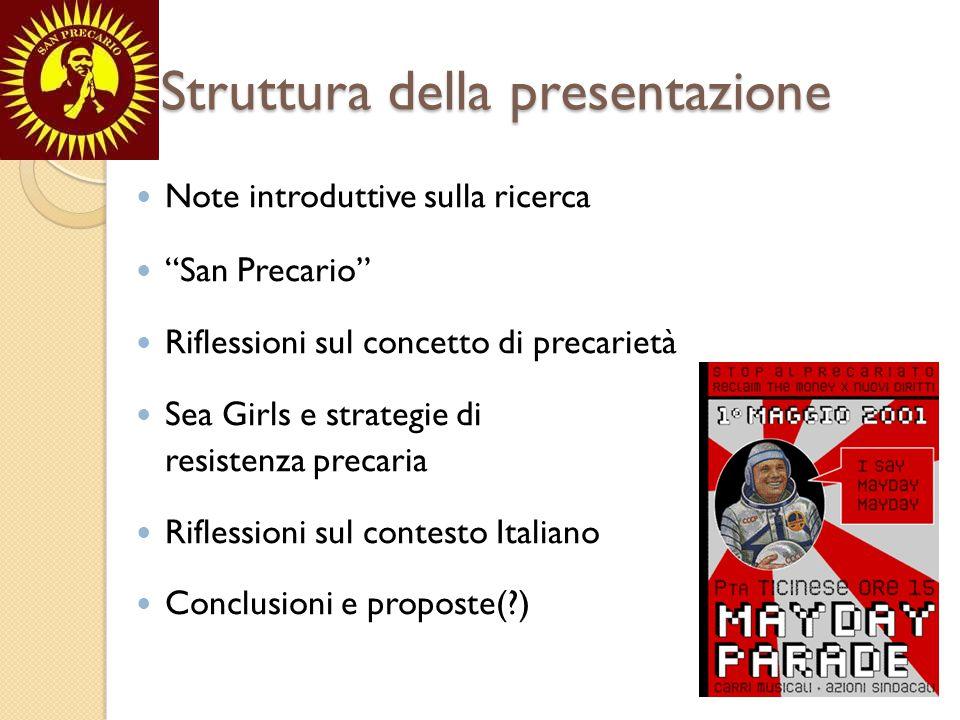 Note introduttive sulla ricerca Dalle relazioni internazionali a San Precario Theory is always for someone and for some purpose.