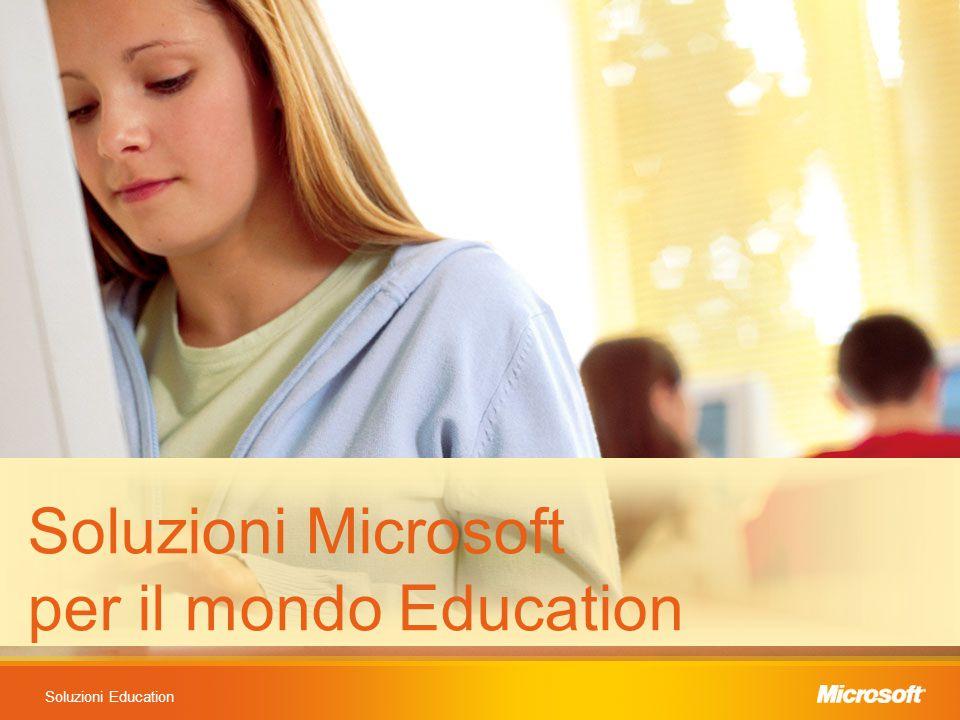 Soluzioni Education Soluzioni Microsoft per il mondo Education