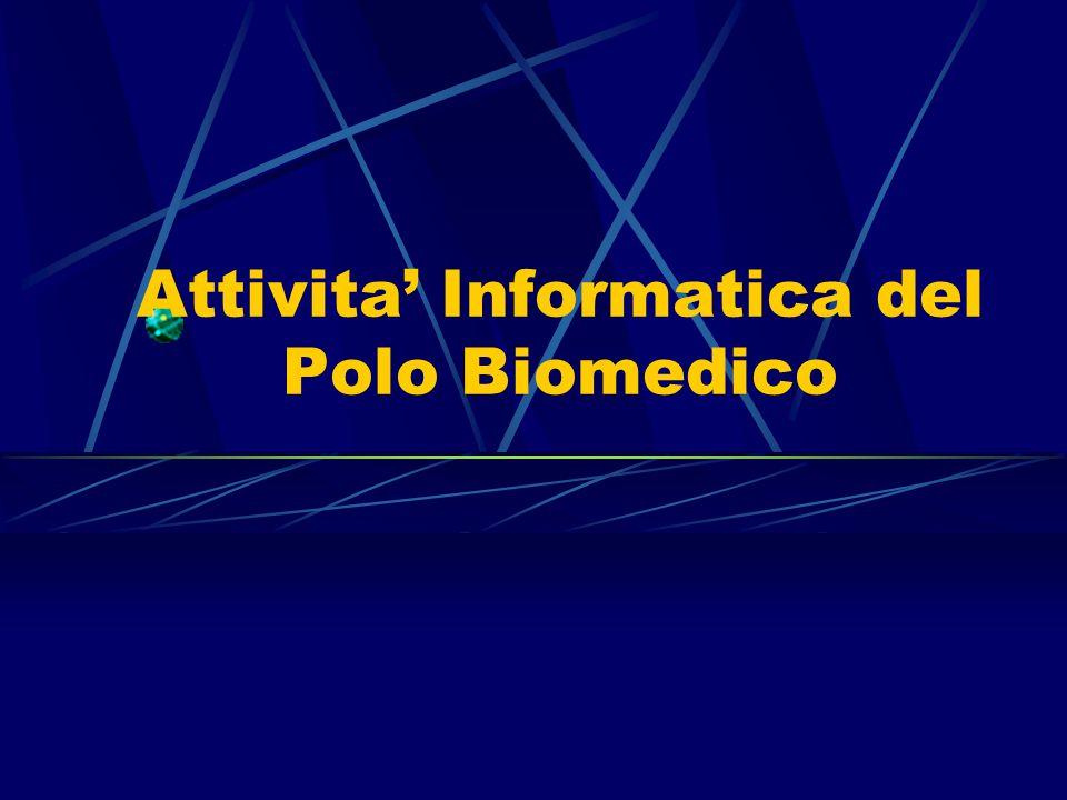 Attivita' Informatica del Polo Biomedico