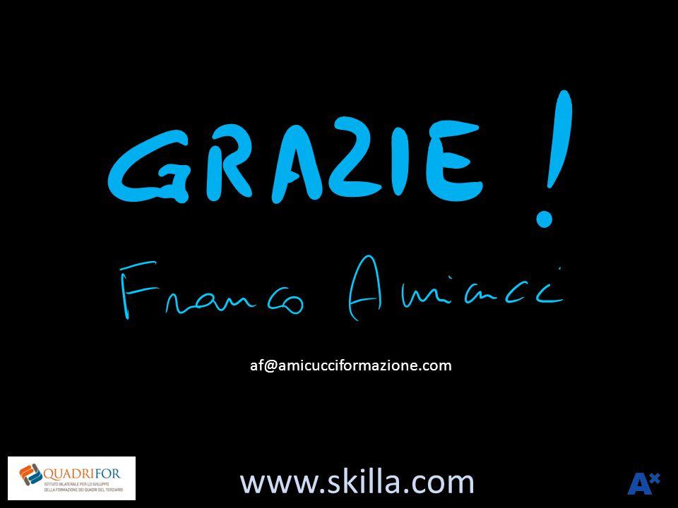 www.skilla.com af@amicucciformazione.com