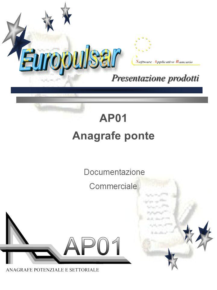 AP01 Anagrafe ponte Documentazione Commerciale Presentazione prodotti