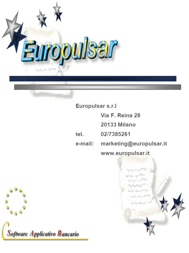 Europulsar s.r.l Via F. Reina 28 20133 Milano tel.
