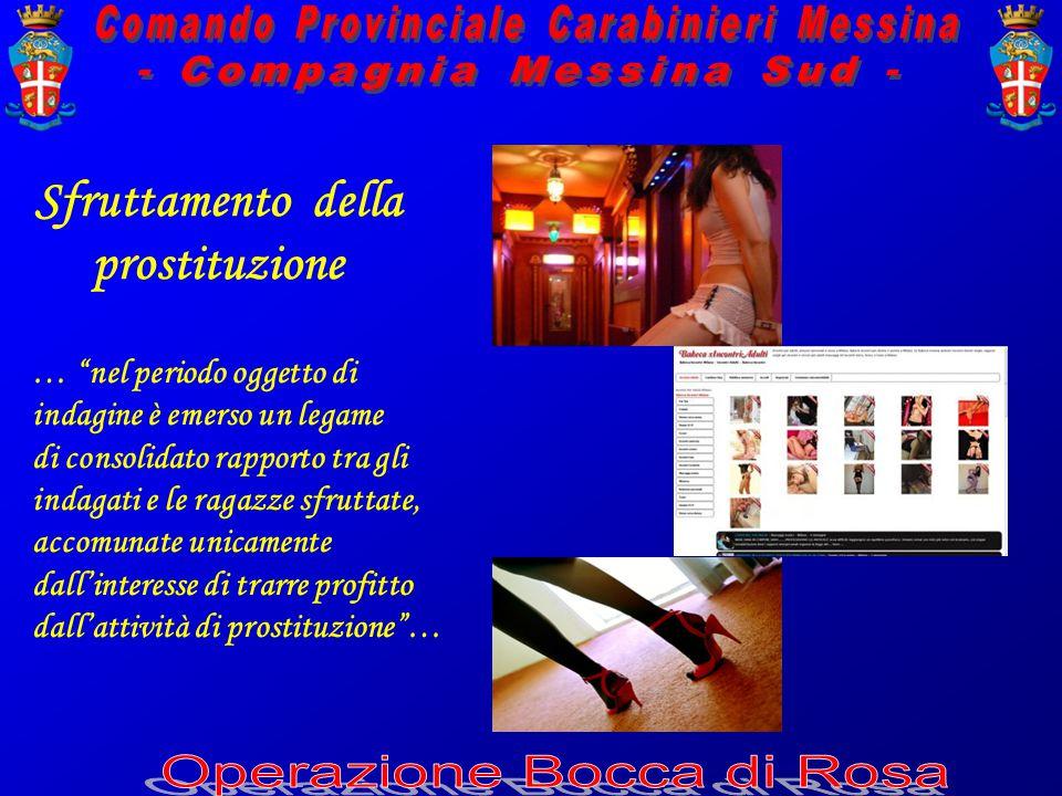 Sfruttamento della prostituzione … nel periodo oggetto di indagine è emerso un legame di consolidato rapporto tra gli indagati e le ragazze sfruttate, accomunate unicamente dall'interesse di trarre profitto dall'attività di prostituzione …