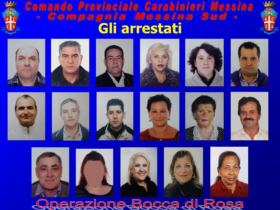 Gli arrestati
