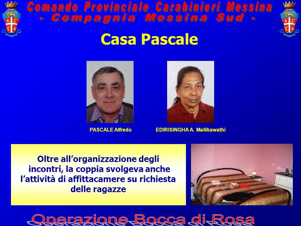 Casa Pascale PASCALE AlfredoEDIRISINGHA A.