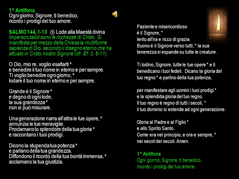 6 FEBBRAIO 2015 VENERDÌ - IV SETTIMANA DEL SALTERIO DEL T.