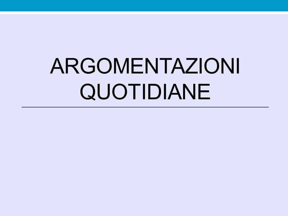 Argomento ad metum Appello alla paura, argomento basato su dati extrarazionali.