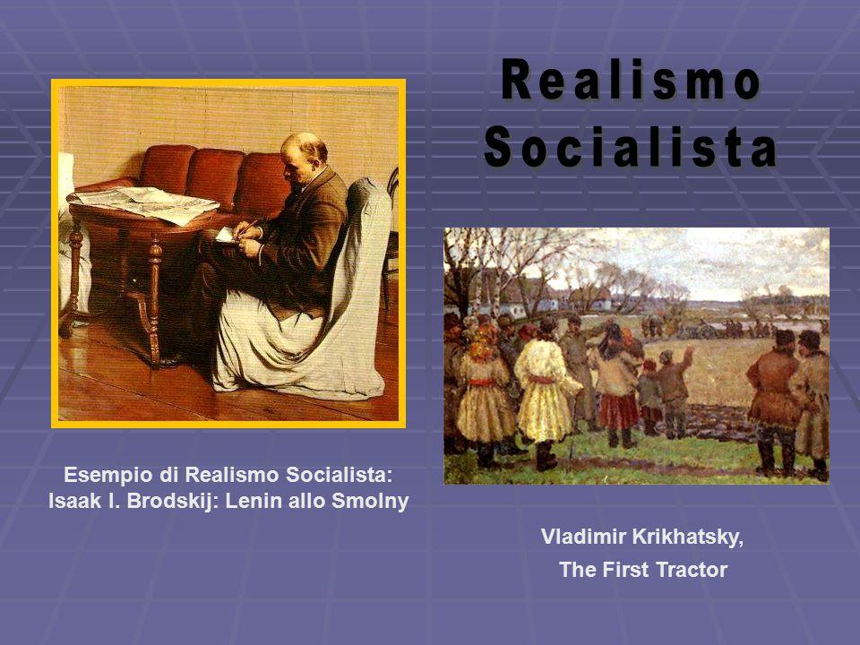 Esempio di Realismo Socialista: Isaak I.