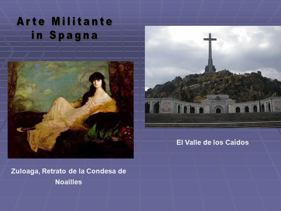 Zuloaga, Retrato de la Condesa de Noailles El Valle de los Caídos
