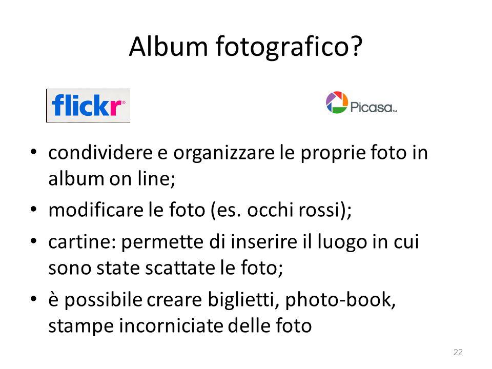 Album fotografico.