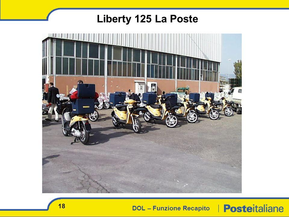 DOL – Funzione Recapito Liberty 125 La Poste 18
