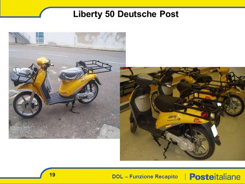 DOL – Funzione Recapito Liberty 50 Deutsche Post 19