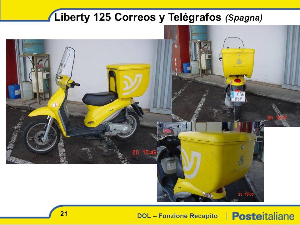 DOL – Funzione Recapito Liberty 125 Correos y Telégrafos (Spagna) 21