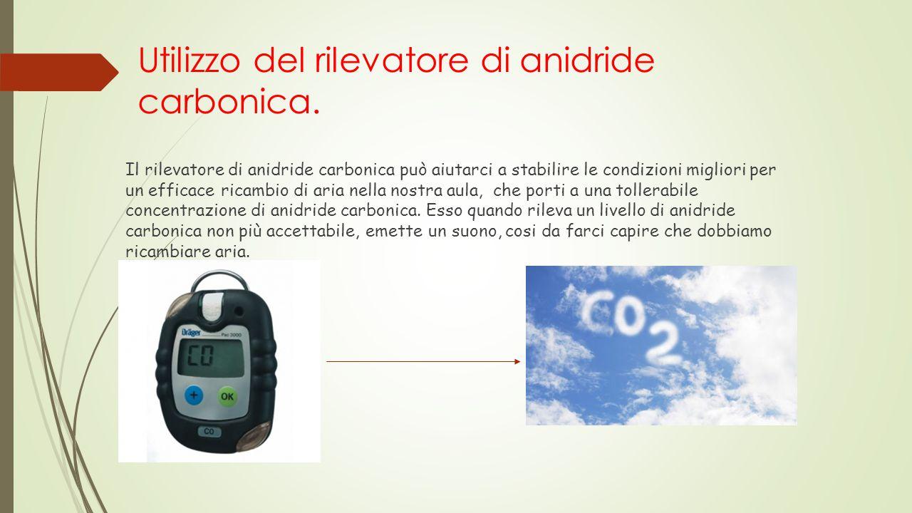 Utilizzo del rilevatore di anidride carbonica. Il rilevatore di anidride carbonica può aiutarci a stabilire le condizioni migliori per un efficace ric