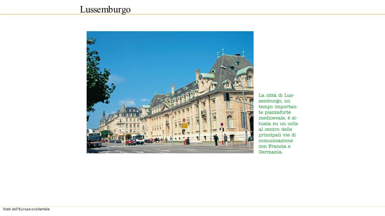 Stati dell'Europa occidentale Lussemburgo