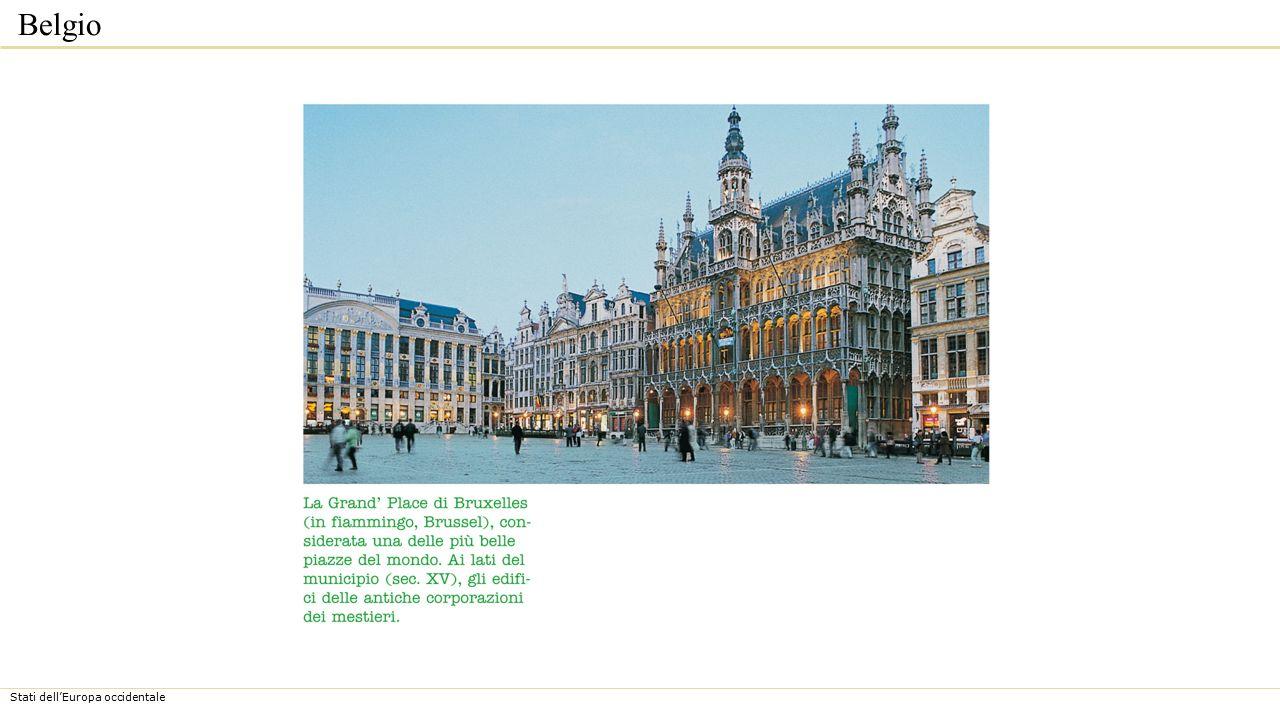 Stati dell'Europa occidentale Belgio