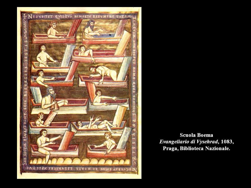 Scuola Boema Evangeliario di Vysehrad, 1083, Praga, Biblioteca Nazionale.