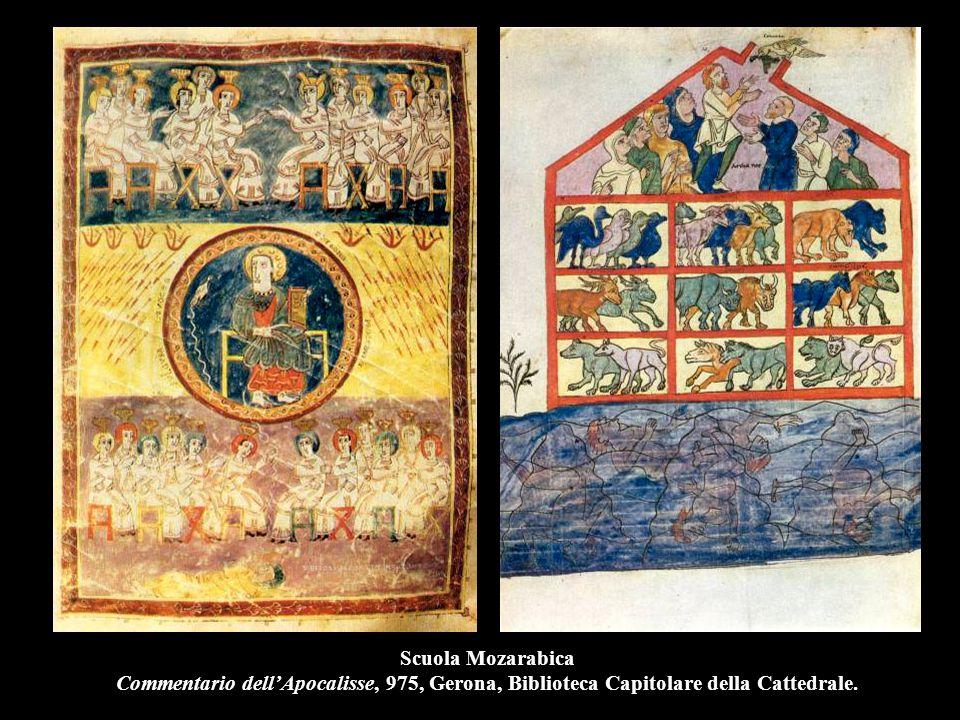 Scuola Mozarabica Commentario dell'Apocalisse, 975, Gerona, Biblioteca Capitolare della Cattedrale.