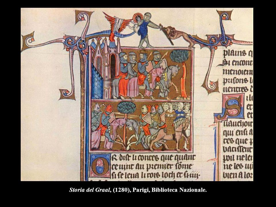 Storia del Graal, (1280), Parigi, Biblioteca Nazionale.
