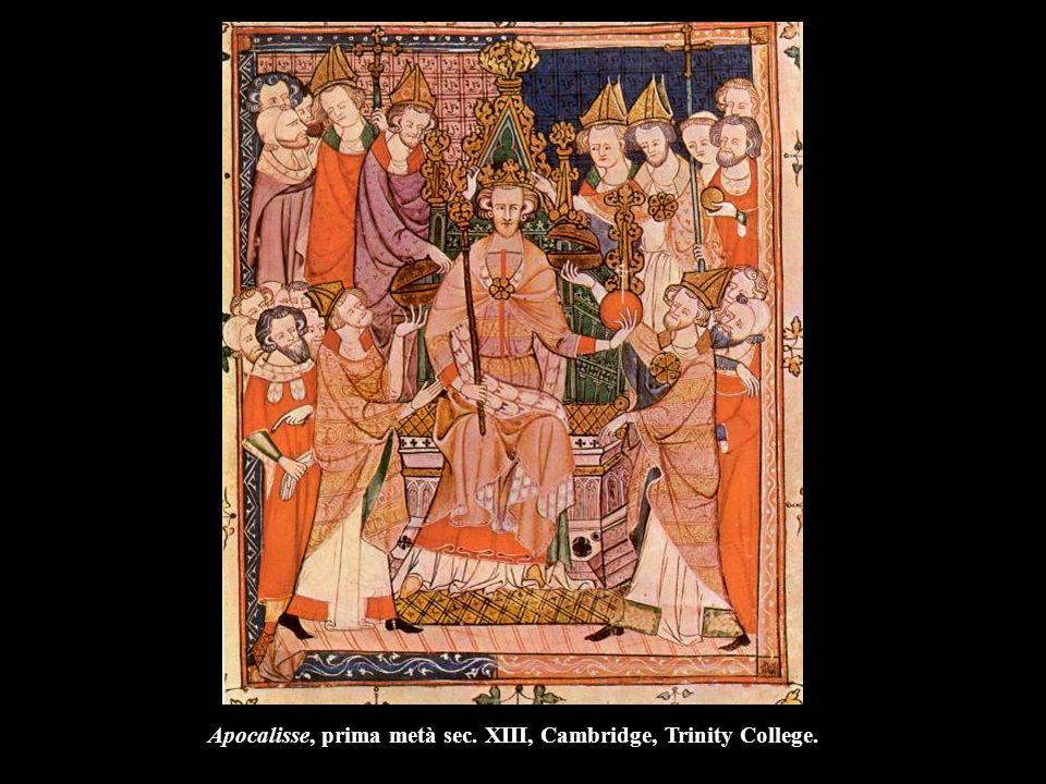 Apocalisse, prima metà sec. XIII, Cambridge, Trinity College.