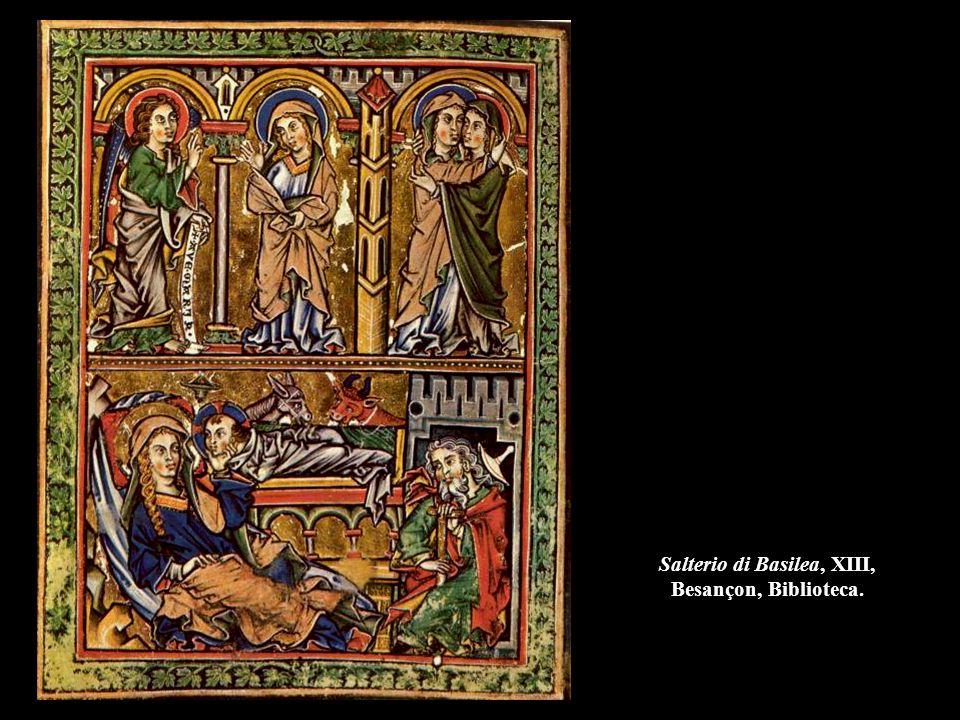 Salterio di Basilea, XIII, Besançon, Biblioteca.