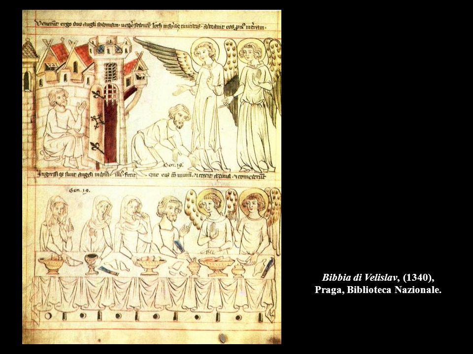 Bibbia di Velislav, (1340), Praga, Biblioteca Nazionale.