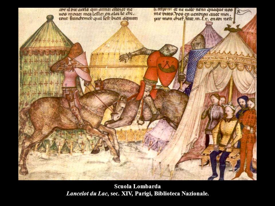 Scuola Lombarda Lancelot du Lac, sec. XIV, Parigi, Biblioteca Nazionale.