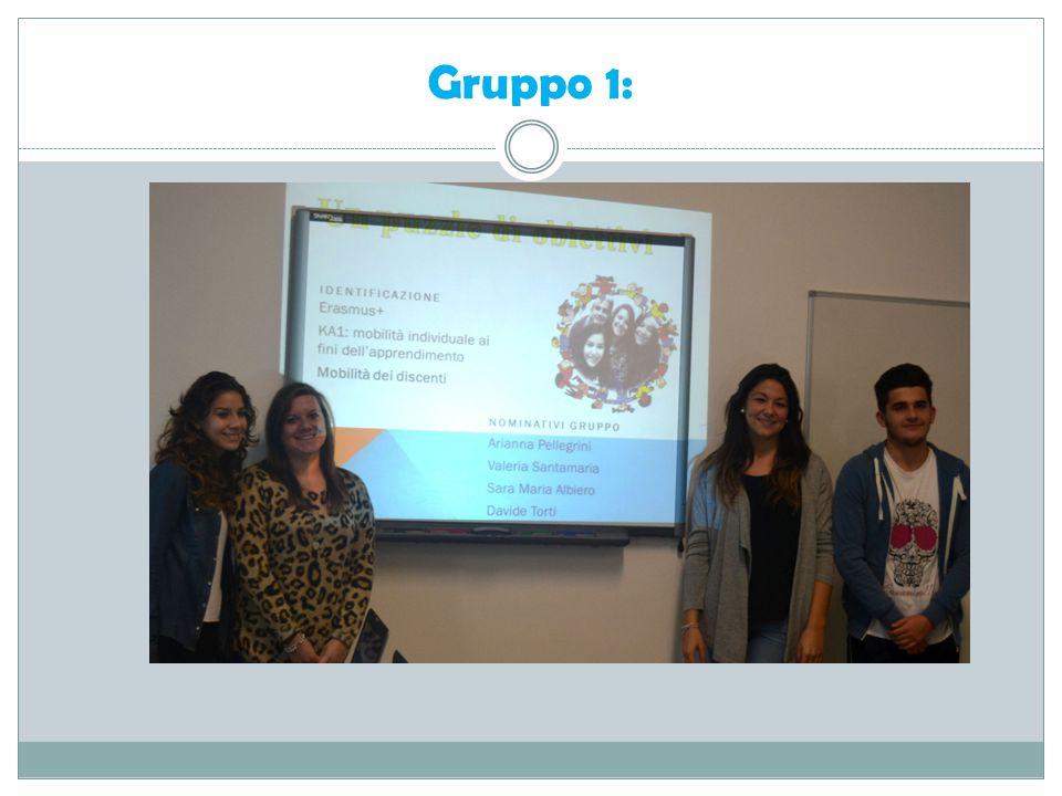 Gruppo 1: