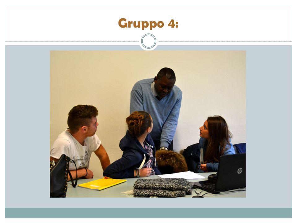 Gruppo 4: